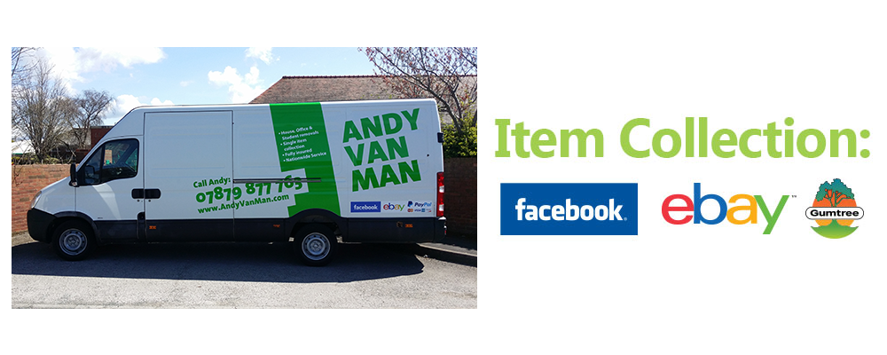 Andy Van Man - Andy Van Man provides a reliable and trustworthy nationwide service, for both domestic and commercial clients.